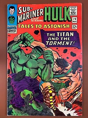 Tales to Astonish #79 (1966 Marvel) Hulk and Sub-Mariner appearance NO RESERVE