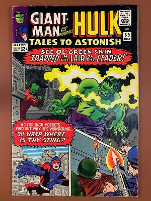 Tales to Astonish #69 (1965 Marvel) Hulk and Giant Man appearance NO RESERVE