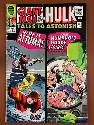 Tales to Astonish #64 (1965 Marvel) Hulk and Giant Man appearance NO RESERVE