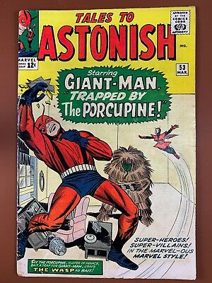 Tales to Astonish #53 (1964 Marvel) Giant Man and Wasp appearance NO RESERVE