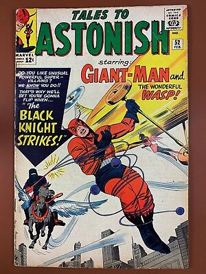 Tales to Astonish #52 (1964 Marvel) Giant Man and Wasp appearance NO RESERVE