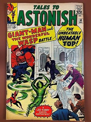 Tales to Astonish #50 (1964 Marvel) Giant Man and Wasp appearance NO RESERVE