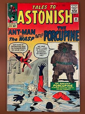 Tales to Astonish #48 (1963 Marvel) Ant Man and Wasp appearance NO RESERVE