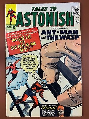 Tales to Astonish #47 (1963 Marvel) Ant Man and Wasp appearance NO RESERVE