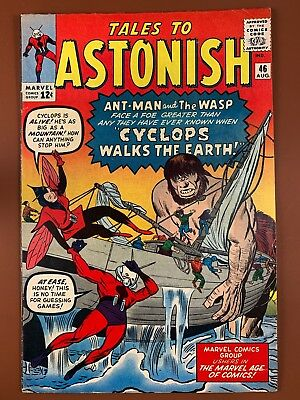 Tales to Astonish #46 (1963 Marvel) Ant Man and Wasp appearance NO RESERVE