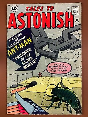 Tales to Astonish #41 (1963 Marvel) Ant Man appearance NO RESERVE