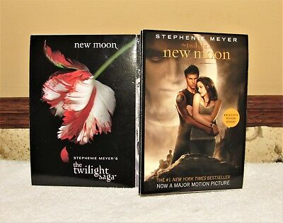 "LITTLE & BROWN PUBLISHERS TWILIGHT SAGA NEW MOON 5"" x 7"" POSTCARDS SDCC 2011"