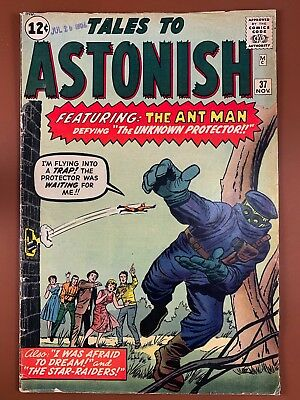 Tales to Astonish #37 (1962 Marvel) Ant Man appearance Silver Age NO RESERVE