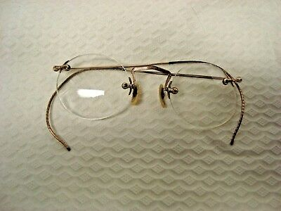 Vintage Flexrite Wire Rim Glasses