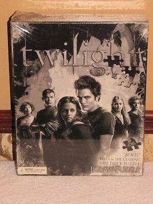THE TWILIGHT SAGA BELLA and THE CULLENS 1000 PIECE JIGSAW PUZZLE MINT in BOX
