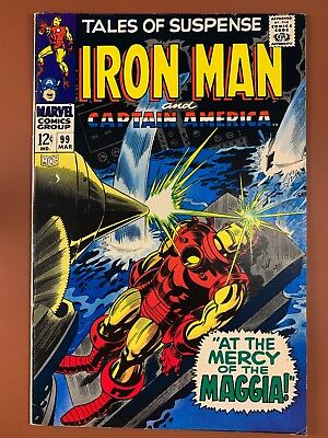 Tales of Suspense #99 Marvel Comics Iron Man and Captain America appearance