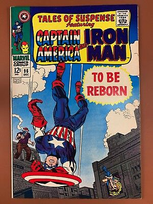 Tales of Suspense #96 Marvel Comics Iron Man and Captain America appearance