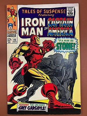 Tales of Suspense #95 Marvel Comics Iron Man and Captain America appearance