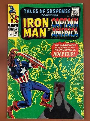 Tales of Suspense #82 Marvel Comics Iron Man and Captain America appearance