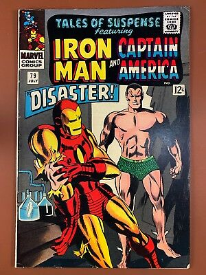 Tales of Suspense #79 Marvel Comics Iron Man and Captain America appearance