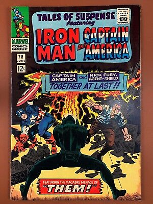 Tales of Suspense #78 Marvel Comics Iron Man and Captain America appearance