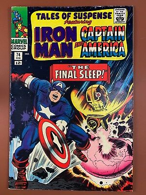 Tales of Suspense #74 Marvel Comics Iron Man and Captain America appearance