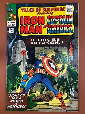 Tales of Suspense #70 Marvel Comics Iron Man and Captain America appearance