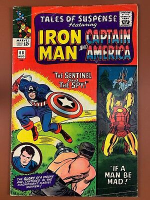 Tales of Suspense #68 Marvel Comics Iron Man and Captain America appearance