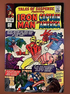Tales of Suspense #67 Marvel Comics Iron Man and Captain America appearance