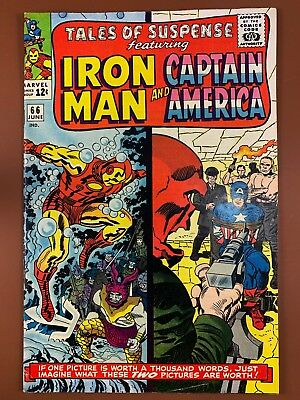 Tales of Suspense #66 Marvel Comics Iron Man and Captain America appearance