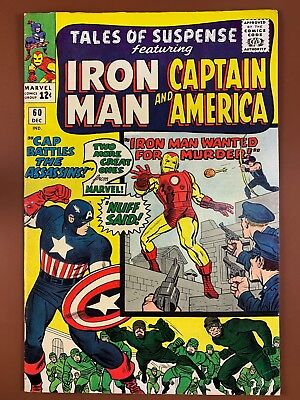 Tales of Suspense #60 Marvel Comics Iron Man and Captain America appearance