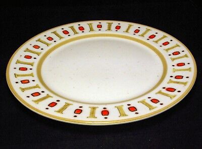 """Set of 4 Classic 1960's Metlox """"Palm Springs"""" Dinner Plates, Excellent Condition"""