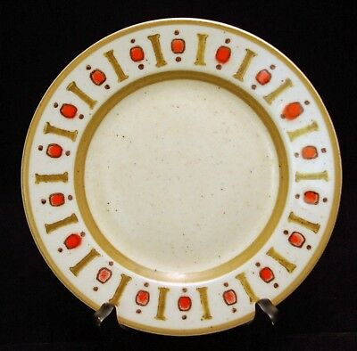 """Set of 4 Classic 1960's Metlox """"Palm Springs"""" Bread Plates, Excellent Condition"""