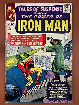 Tales of Suspense #54 Marvel Comics Iron Man appearance Silver Age NO RESERVE