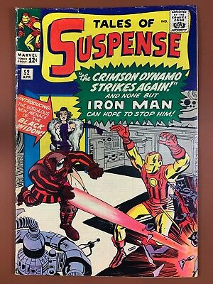 Tales of Suspense #52 Marvel Comics 1st appearance of Black Widow Silver Age