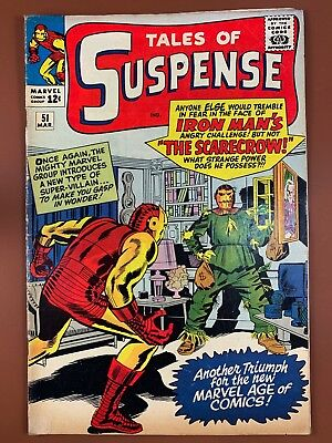 Tales of Suspense #51 Marvel Comics 1st appearnace of the Scarecrow Silver Age