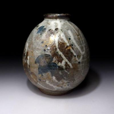 HR9: Japanese Vase by Nitten Exhibition Blue-ribbon Awardee, Masatsugu Shimizu