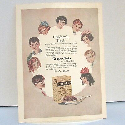 Woman World Magazine Ad CULVER Pedal Car RACER Post Cereal Advertising Vintage