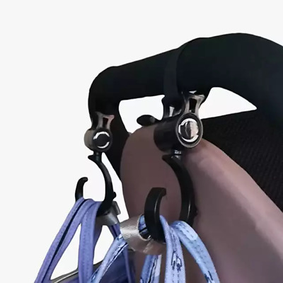Baby Hanger Baby Bag Stroller Hooks Pram Rotate 360 Degree Cart Hook Accessories