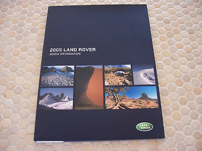 Land Rover Official Lr3 Freelander Range Press Brochure 2005 Usa Edition