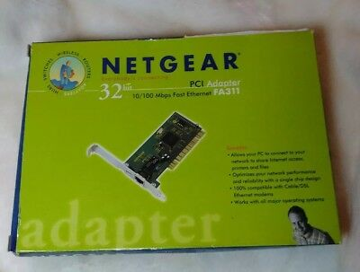 FA311 FAST ETHERNET PCI ADAPTER DRIVERS PC