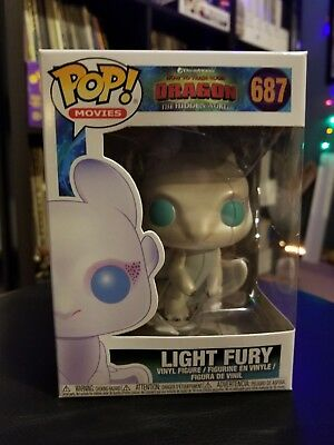 Funko Pop Light Fury How to train your Dragon