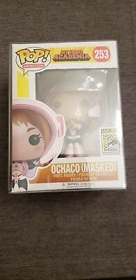 2017 SDCC Funko Pop! Funimation Exclusive Ochaco masked My Hero Academia