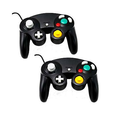 2 Packs Gamecube Controller, NGC Wired Gamepads Compatible with Wii NGC