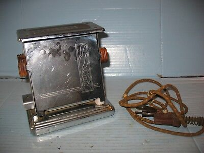 Rare Vintage Antique Hibbard, Spencer, Bartlett & Co. Electric Toaster