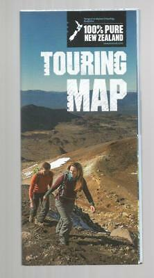 New Zealand Touring Map New Double Sided