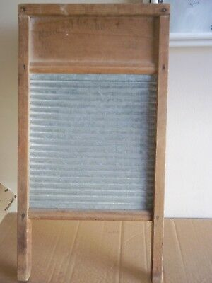 Vintage Antique National Washboard Company No 858 Clothes Washer Scrubber L@@k!