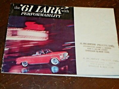 1961 Studebaker Lark Sales Folder