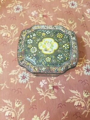 antique tin from Durham, England