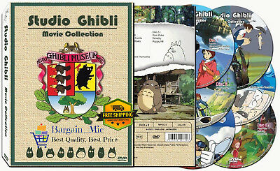 *New* Hayao Miyazaki Studio Ghibli 17 Movie Collection DVD Set Box