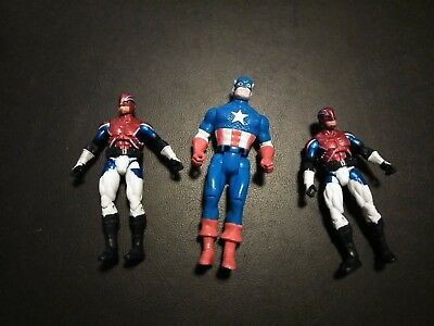 "Marvel Universe Captain Britain America 3.75"" Hasbro Action Figure Loose lot"