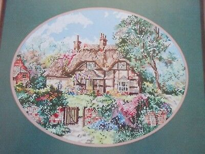 The Ginger Cottage Cross Stitch Leaflet A Pegasus Publication - Marty Bell