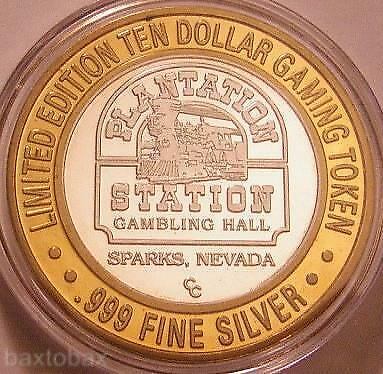 PLANTATION STATION  Silver Strike TRAIN solo issue 1994 *Rarer*