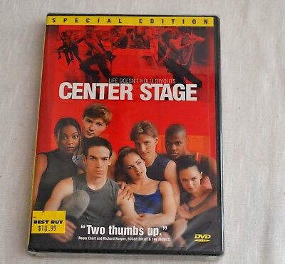 New Sealed DVD movie CENTER STAGE special edition Dance Movie
