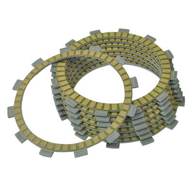 8pc Motorcycle Engine Friction Clutch Plates For Yamaha FZ700 1987 FZ750 1988